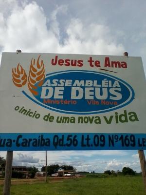 Placa da Igreja